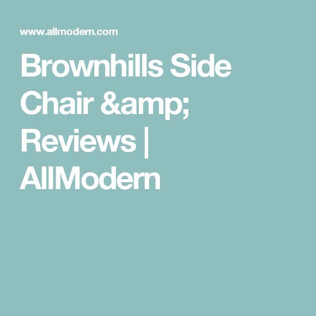Brownhills Side Chair & Reviews   AllModern