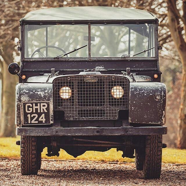 """""""Lovely original #1949 #landrover #80inch owned by a friend of mine. Every dent tells a story"""" By @nickdimbleby #seriesone #nickdimbleby #landroverphotoalbum #serieslandrover"""