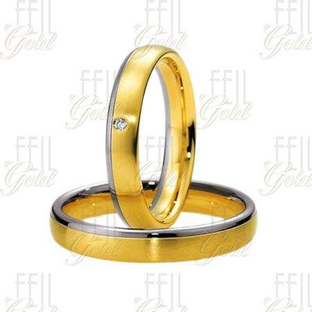 Többszínű arany karikagyűrű WTAu-46