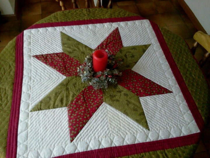 Mantel navideño 2012