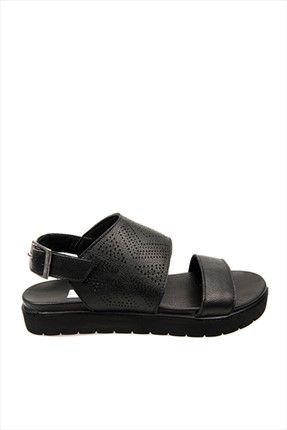 Ziya Hakiki Deri Siyah Kadın Sandalet 6176 3156 || Hakiki Deri Siyah Kadın Sandalet 6176 3156 Ziya Kadın                        http://www.1001stil.com/urun/4966418/ziya-hakiki-deri-siyah-kadin-sandalet-6176-3156.html?utm_campaign=Trendyol&utm_source=pinterest
