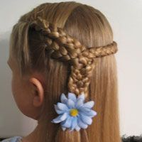 TONS of cute hairstyles for little girls