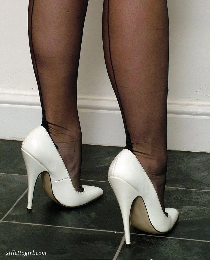 #Highheels   High heels   Thigh high boots heels, Stiletto ...