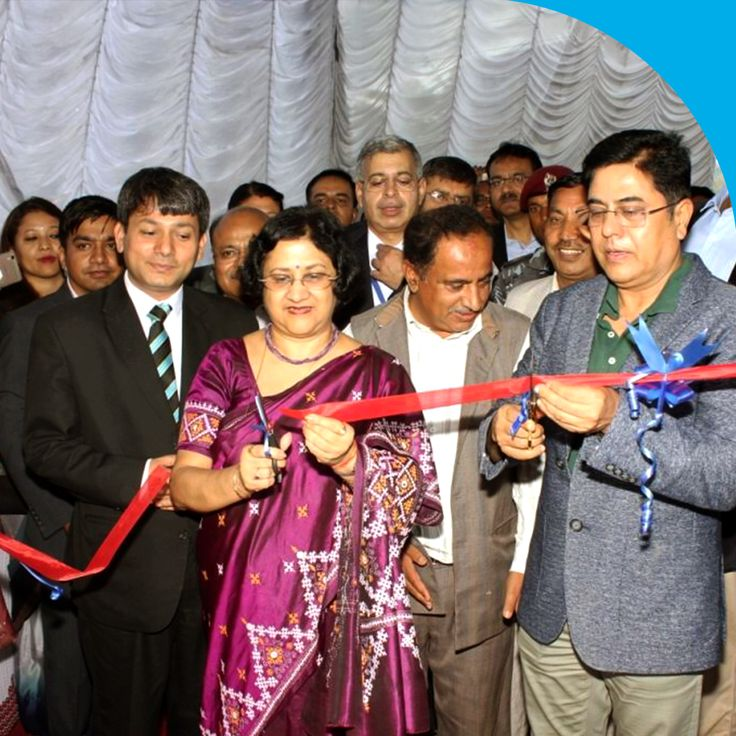 A Digital Village initiative by Nepal State Bank was inaugurated by SBI Chairman Smt. Arundhati Bhattacharya and other dignitaries' at Jaharsing Pauwa near Kathmandu on the 8th of July. This initiative aims to bring banking to every household and was announced along with a host of other literary, financial and connectivity related CSR activities.#StateBankOfIndia #SBI #StateBank #DigitalVillage
