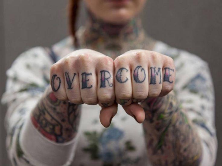 Knuckles Tattoos Series