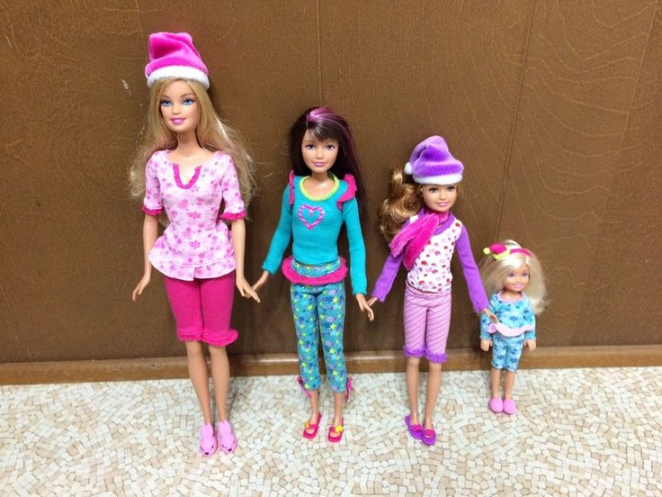 Barbie Sister Skipper Stacie Chelsea A Perfect Christmas