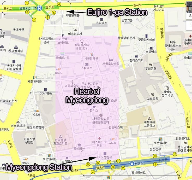 6 Seoul Subway Shortcuts To Tourist Attractions South Koreaseoulhow
