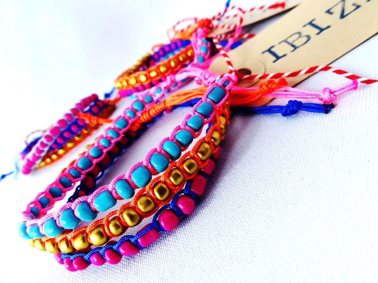 Ibiza style (bohemian beach arm candies)