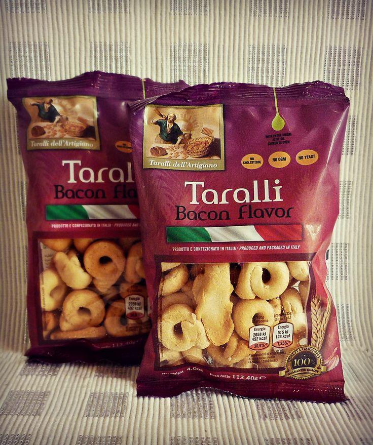 Bacon Taralli