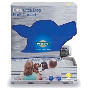 PetSafe Elite Little Dog Bark Collar from RadioFence.com uses the vibration and sound of your dog's bark to ensure it is not detecting surrounding noises. Collar begins with mild corrections and increases if excessive barking continues. Waterproof, satisfaction guaranteed, and Free Shipping for only $84.95!