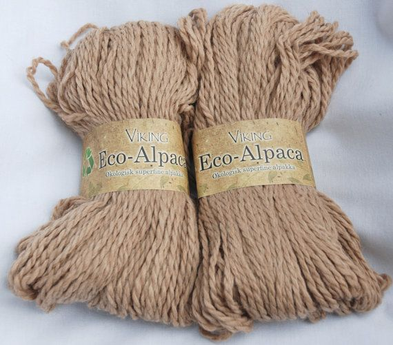 YARN SALE Undyed Organic Aplaca  -Eco-Alpaca Can't wait to make something with this!