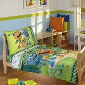Found it at Wayfair - Henry Hugglemonster 4 Piece Toddler Bedding Set