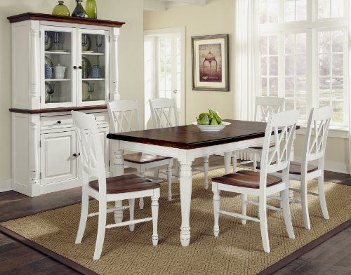Rectangular Kitchen Table And Chairs 27 best home kitchen dining room sets images on pinterest home styles 5020 309 monarch rectangular dining table and six double x back chair workwithnaturefo