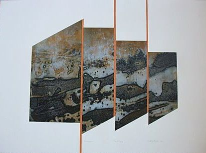Collagraph collage
