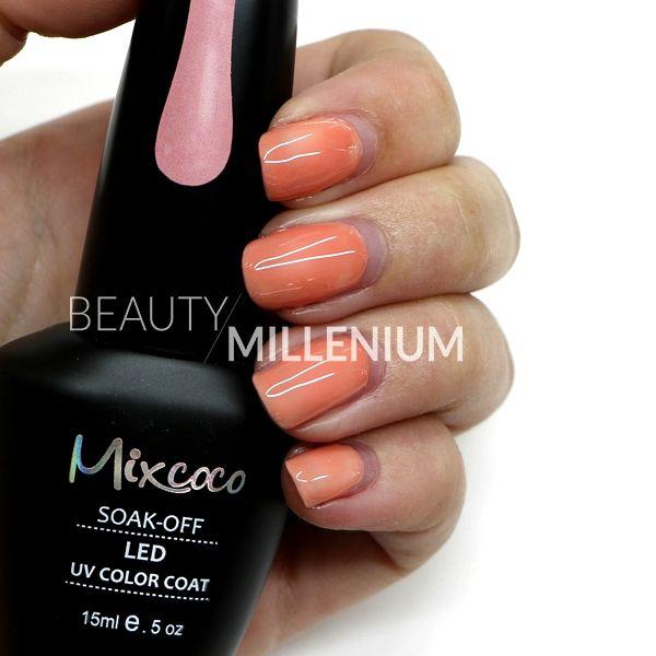 #Mixcoco #gellak #017 'Beige Chique' verkrijgbaar via www.beautymillenium.nl - prijs €14,95 ✨ minimaal 2 weken lang prachtig gelakte #nagels met #MixcocoGellak #nails #gelnails #manicure #gelmanicure #nailart #gellish #gellac #gelish #gelnagellak #mani #nailartclub #beauty #nailpolish #orangenails #nudenails