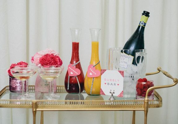 Bridesmaid luncheon  Cocktails | Wedding and Party Ideas | 100 Layer Cake: Luncheon Cocktails, Bridesmaid Luncheon, Wedding Ideas, Layer Cakes, Bridal Shower, Bubbly Bar, Party Ideas