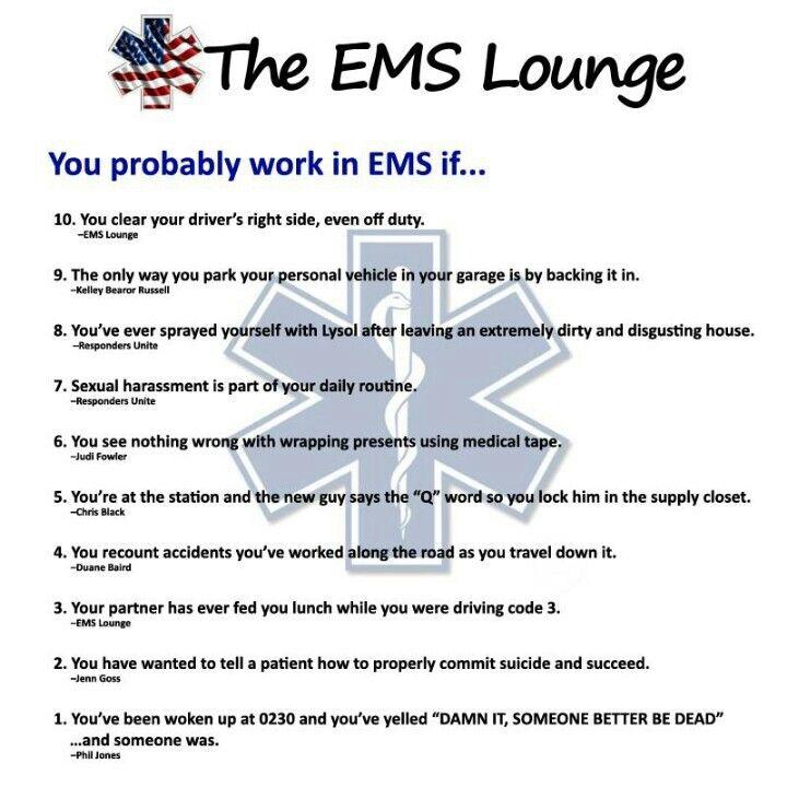 nurse dating emt