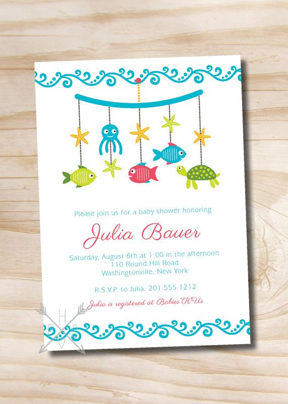 147 best baby shower invitations images on pinterest | baby shower, Baby shower invitations