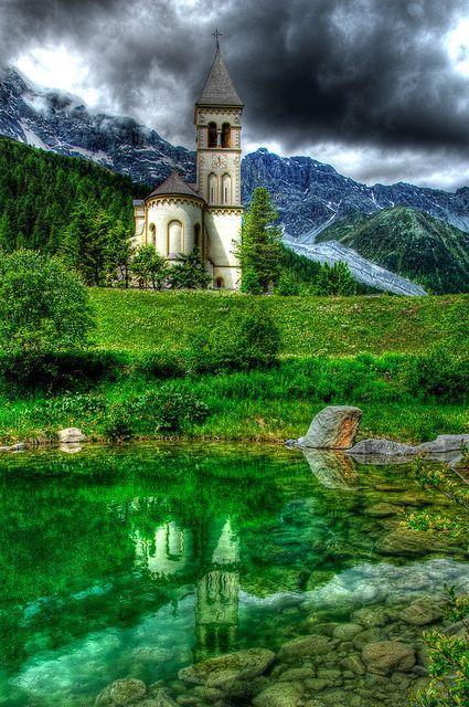 St. Gertrud,Trentino-Alto Adige, Italy