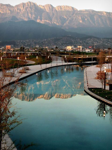 Paseo Santa Lucia in Monterrey N.L. Mexico. Hopefully one day I can go visit again. Nancy/GP