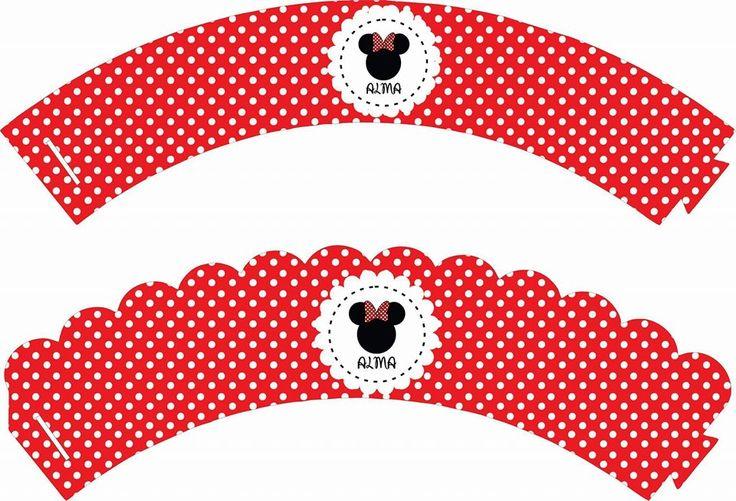 #Cupcakes #Magdalenas #Muffins #Minnie #Roja #Birthday #Cumple #Cumpleaños