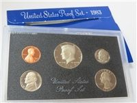 1983-S 5 Coin Proof Set