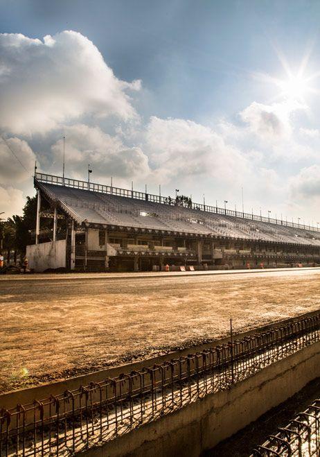 El Autódromo se prepara para el Gran Premio de México - construccion Obrasweb.mx