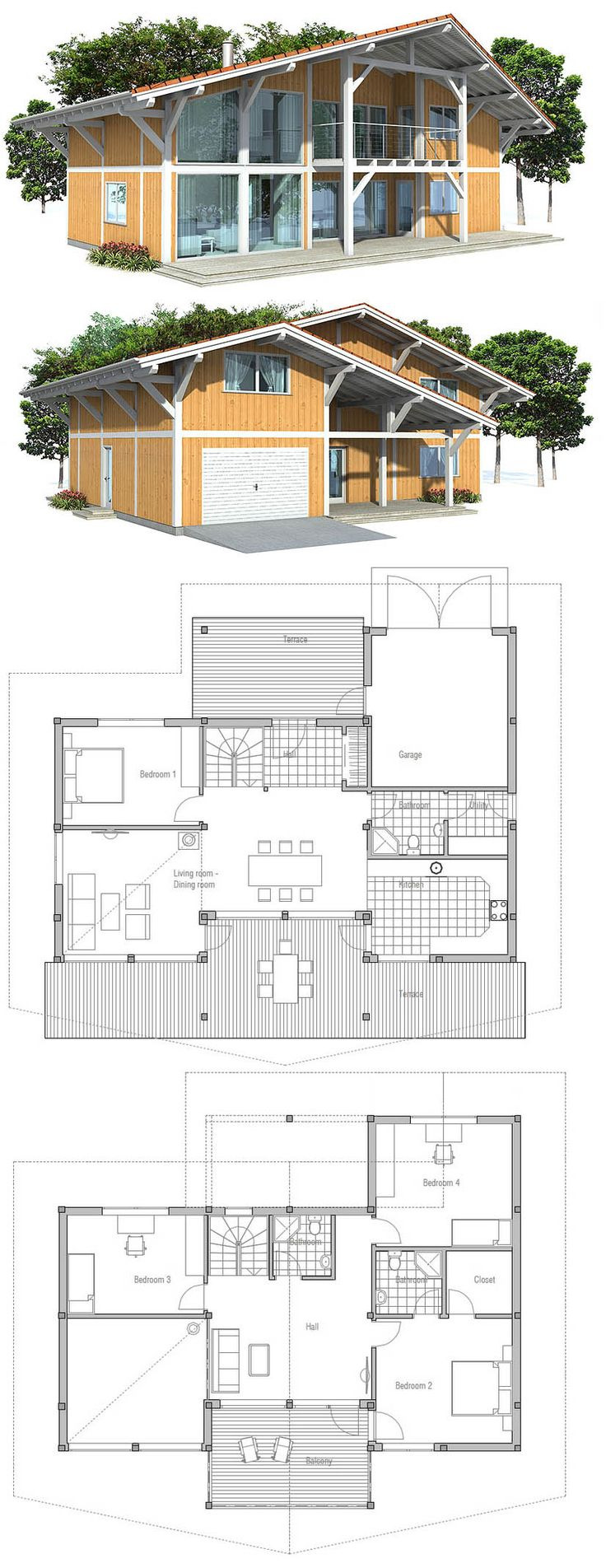 1000+ images about Small House Plans on Pinterest - ^