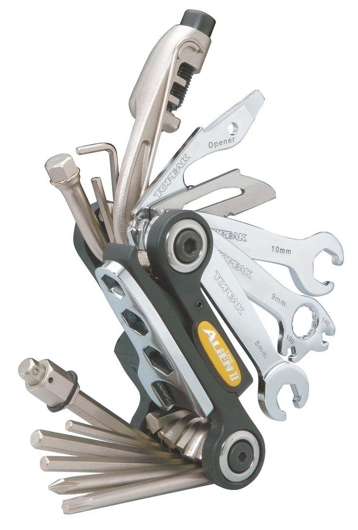Amazon.com : Topeak Alien II 26-Function Bicycle Tool : Bike Multifunction Tools : Sports & Outdoors