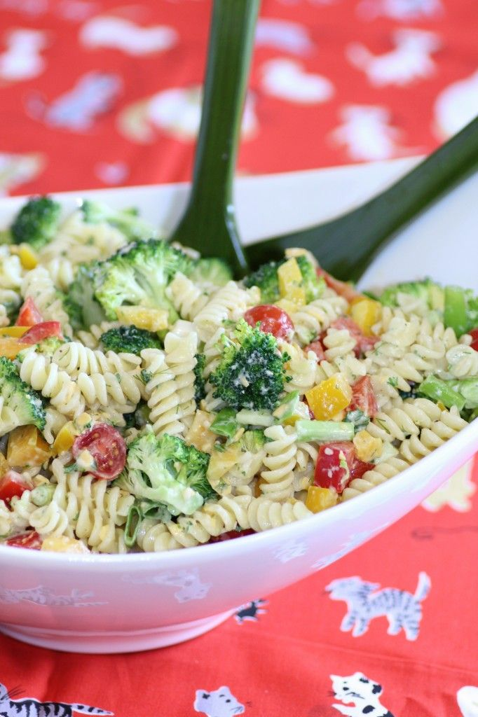 A Pasta Salad you can make for your next BBQ or Picnic