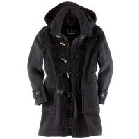 Barbour Men's Classic Duffle Coat Long - Anthracite MWO0004GY91 (T956) | Country Attire