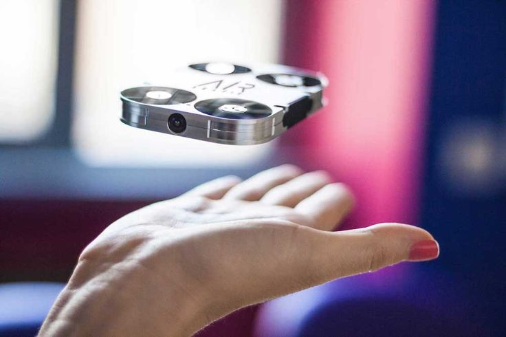 """Instead of extending your arm or using a selfie stick to snap shots of you and your crew, you could use a new pocket-size drone — dubbed the """"AirSelfie"""" — to help you remotely capture aerial photos and videos."""