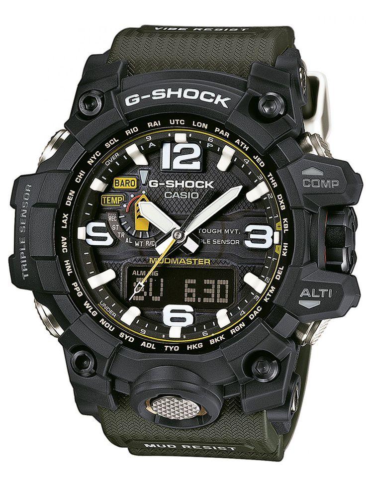 CASIO G-Shock Mudmaster Watch GWG-1000-1A3ER