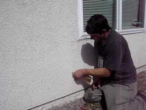 16 best all about stucco images on pinterest stucco - How to repair exterior stucco cracks ...