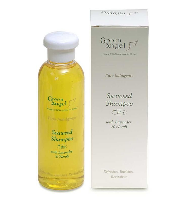 Green Angel Seaweed Shampoo - Made In Ireland