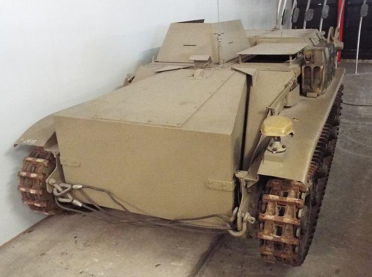 Schwerer Ladungsträger Borgward B IV Panzer Museum Munster