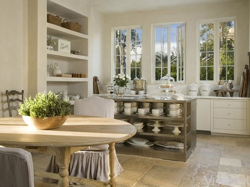 open shelving: Open Shelves, Kitchens Inspiration, Open Kitchens Shelves, Pam Piercing, Urban Farmhouse, Farmhouse Kitchens, Country Kitchens, Pamela Piercing, French Style