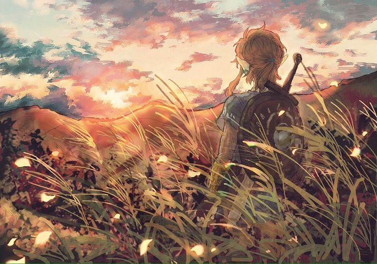 The Legend of Zelda BTOW wallpaper link – My Otaku Chaos