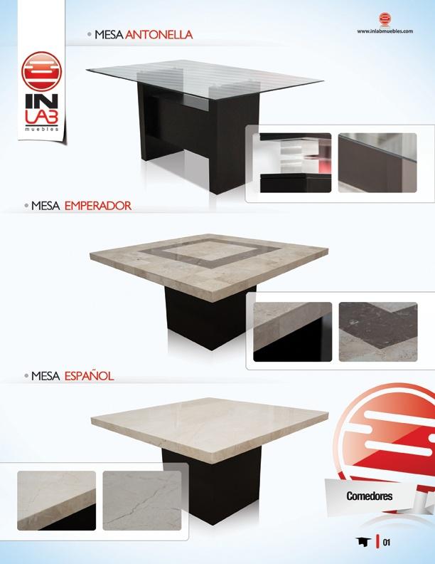 Comedores mesas mesas de cristal mesas de madera de for Comedores redondos de madera