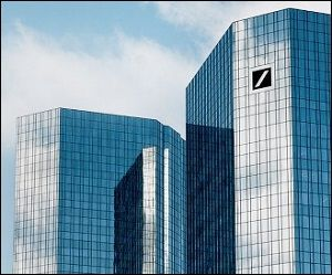 Germany's Deutsche Bank, Again in Trouble, Received a U.S. Bailout Twice as Big as Lehman Brothers- By Pam Martens and Russ Martens: October 3, 2016
