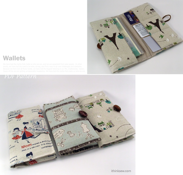 no 116 The Tanya Wallet PDF Pattern