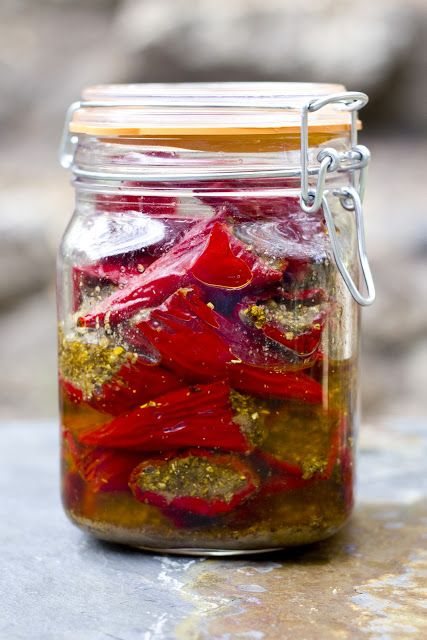 Indian Pickled Peppers