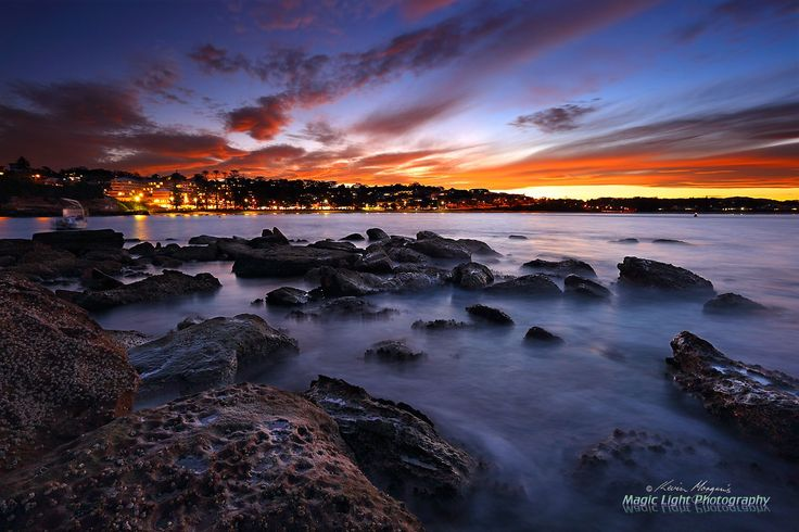 Terrigal Haven Sunset May 2016 - Sunset last Wednesday night in Terrigal. Shot from The Haven.