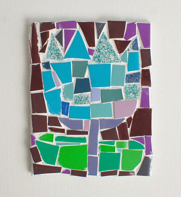 29 best vbs everest craft ideas images on pinterest for Mosaic pieces for crafts