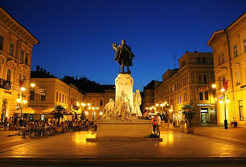 Klauzal Square, Szeged, Hungary