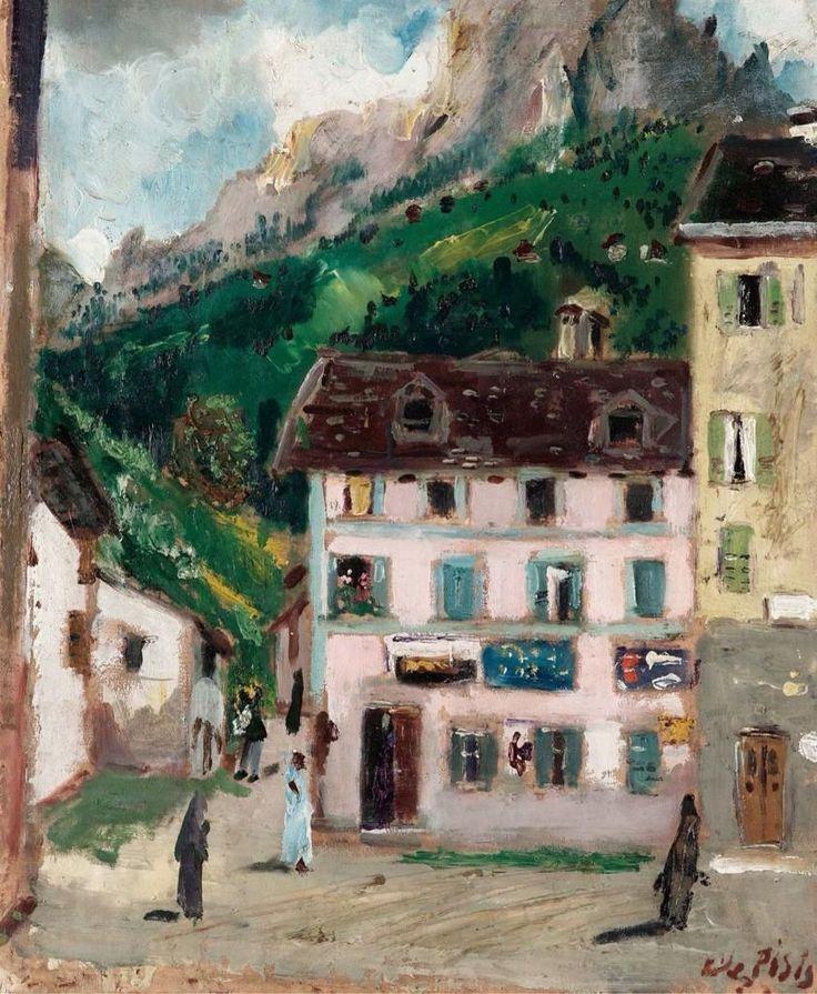 @miremg: Colnaghi spiò il quadro..un paesaggio di montagna:un villaggio arroccato..una manciata di case colorate @TwoReaders