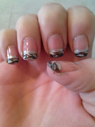 13 best camo nails images on pinterest camo nails camouflage camo french tips prinsesfo Gallery