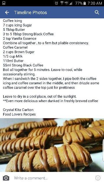 Koffie koekies 2