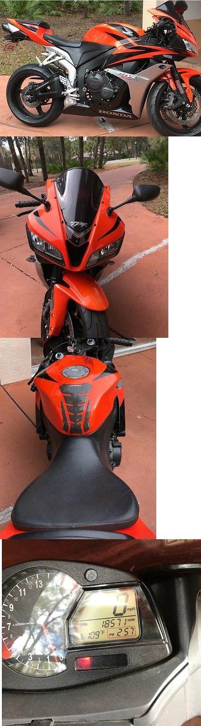 Motorcycles: 2008 Honda Cbr600rr 2008 Honda Cbr600rr BUY IT NOW ONLY: $4500.0