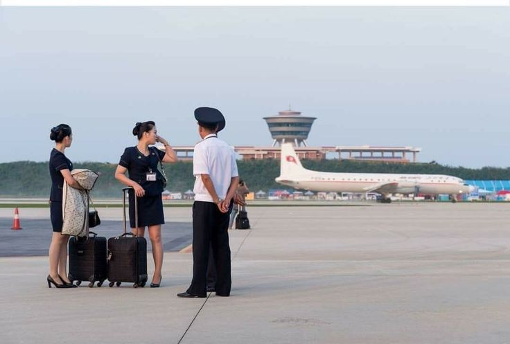 Air Koryo crew